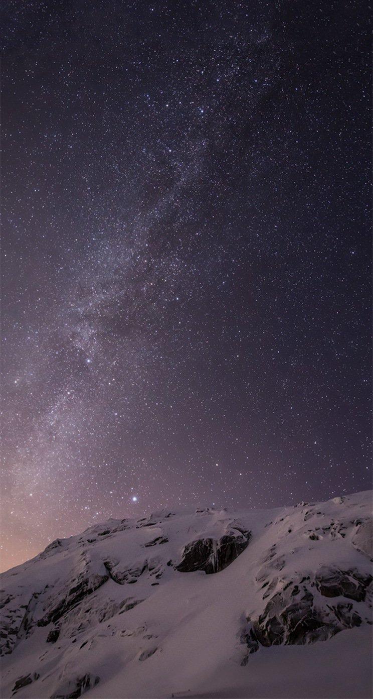 Красивые картинки на телефон Звездное небо на заставку - подборка 12