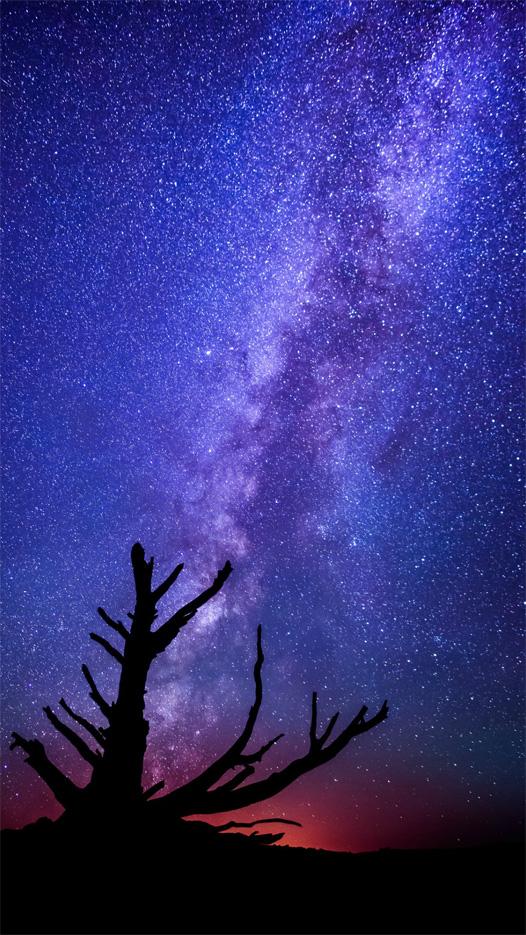Красивые картинки на телефон Звездное небо на заставку - подборка 14