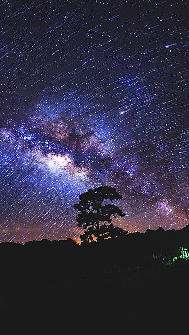 Красивые картинки на телефон Звездное небо на заставку - подборка 7