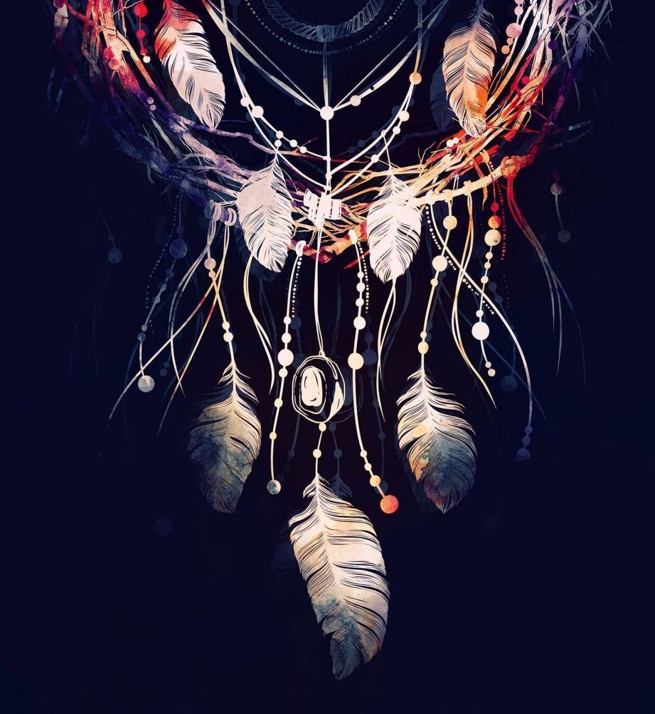 Красивые картинки обои Ловец снов на телефона на заставку - сборка 12