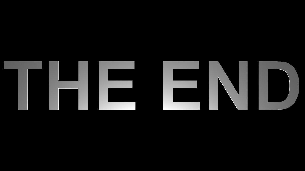 Красивые картинки со смыслом со словом Конец, The End - сборка 4