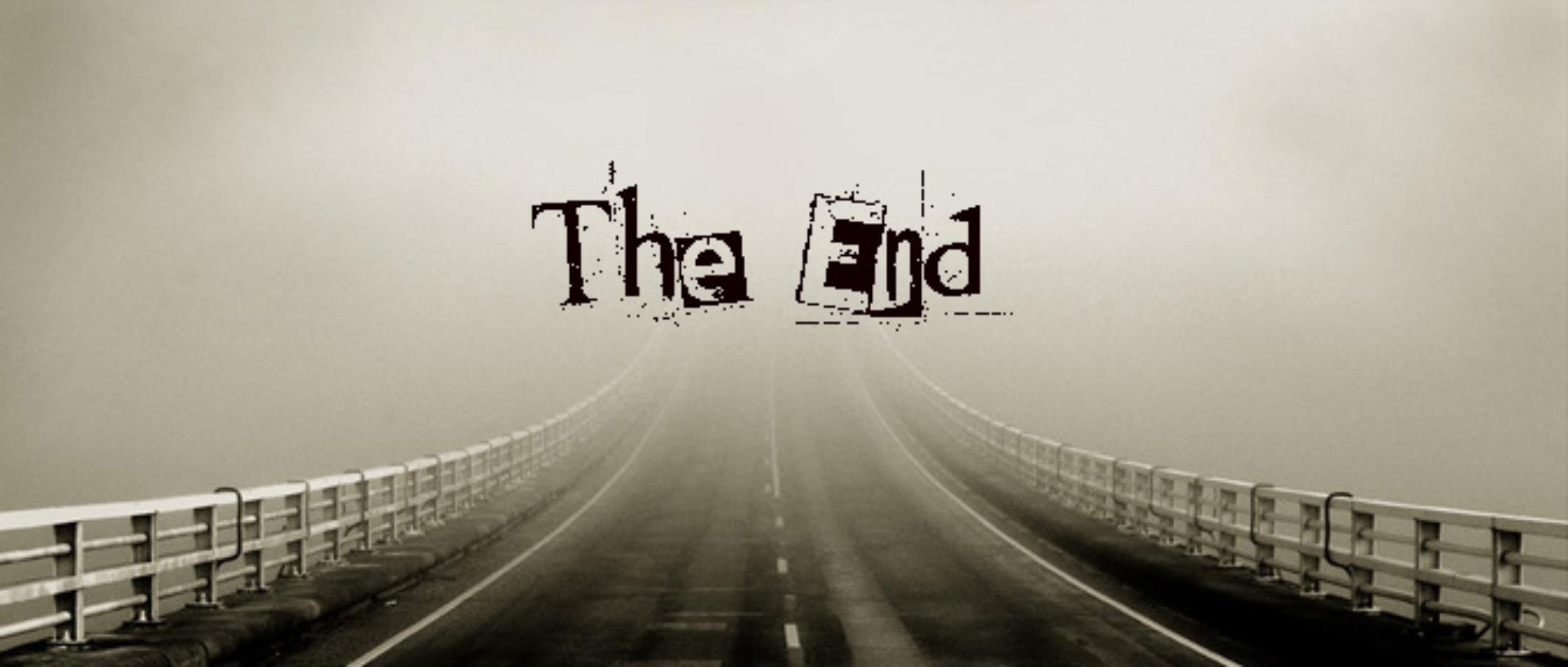 Красивые картинки со смыслом со словом Конец, The End - сборка 8