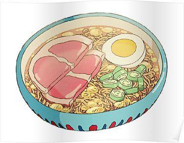 Милые и няшные картинки еды, продуктов и вкусняшек - подборка 2