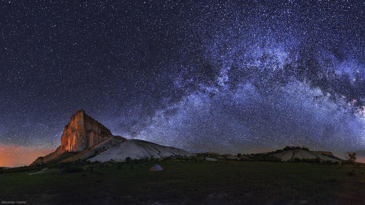 Млечный путь и другие Галактики - удивительные картинки, обои 1