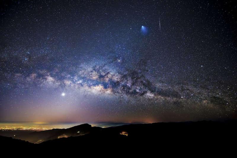 Млечный путь и другие Галактики - удивительные картинки, обои 10