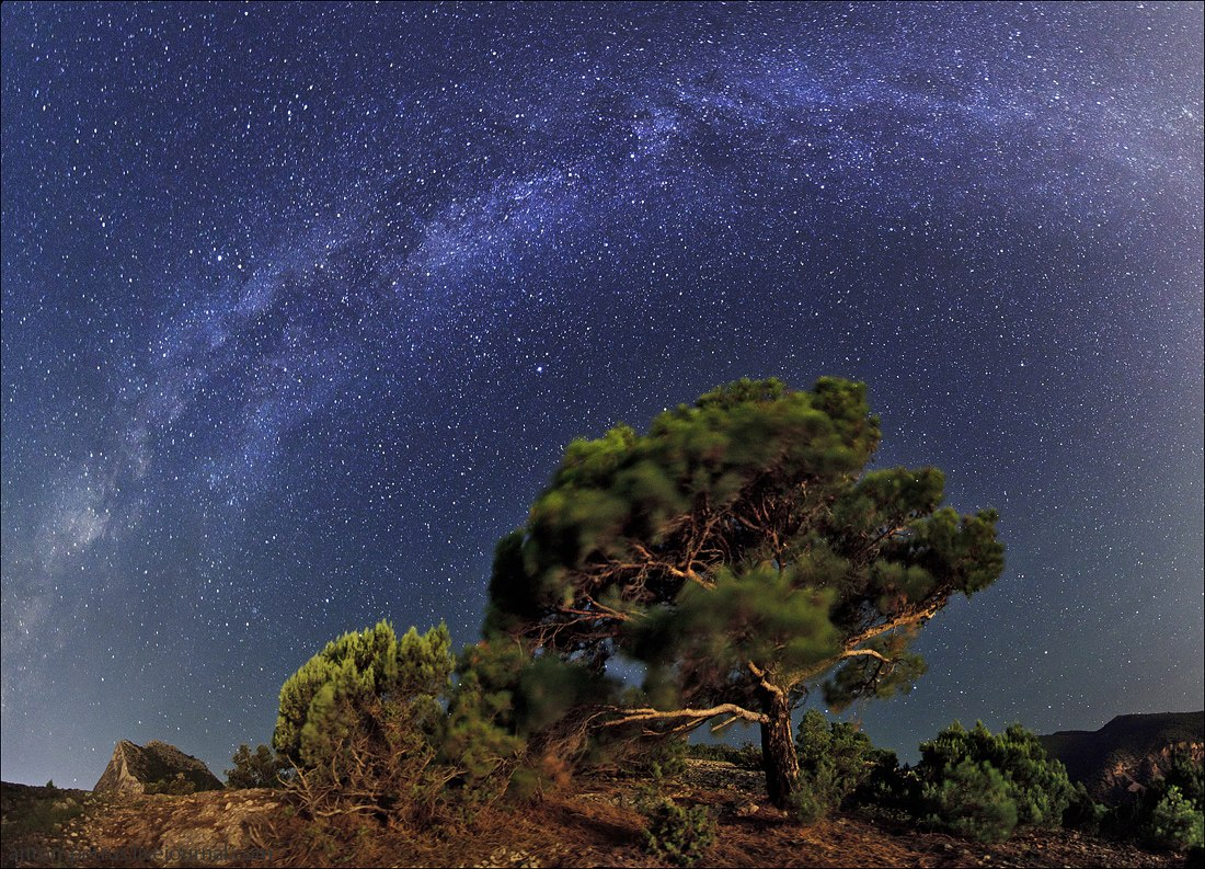 Млечный путь и другие Галактики - удивительные картинки, обои 11