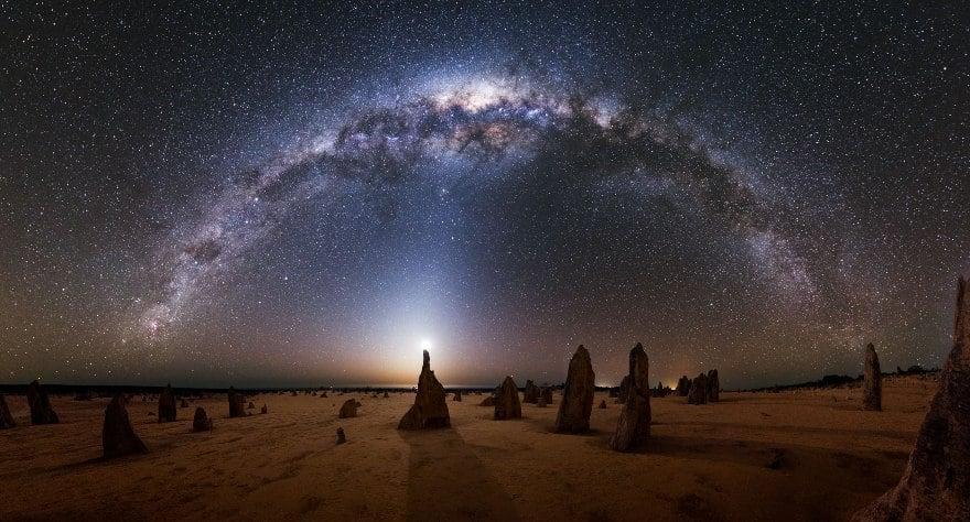 Млечный путь и другие Галактики - удивительные картинки, обои 15