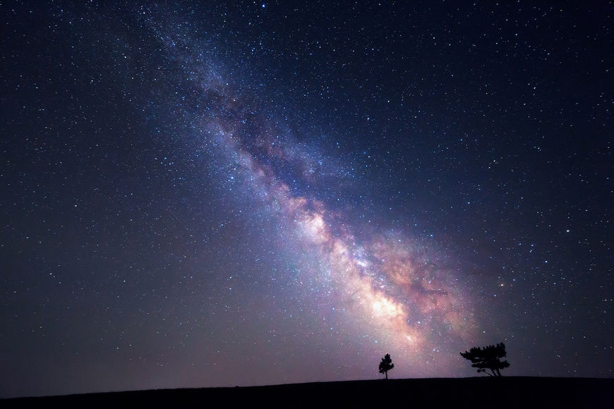 Млечный путь и другие Галактики - удивительные картинки, обои 6