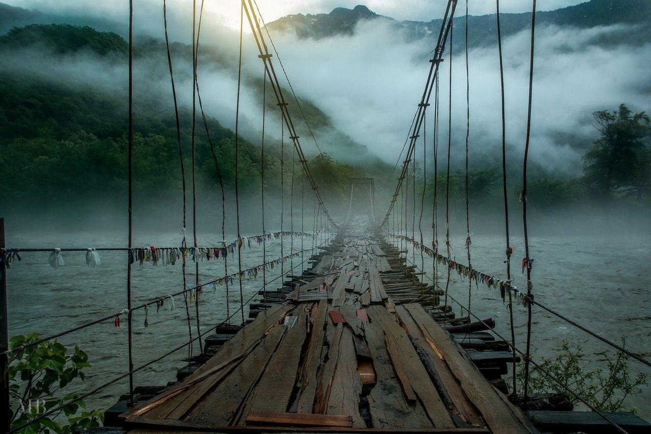 Мост через реку - красивые и удивительные картинки, фото 4