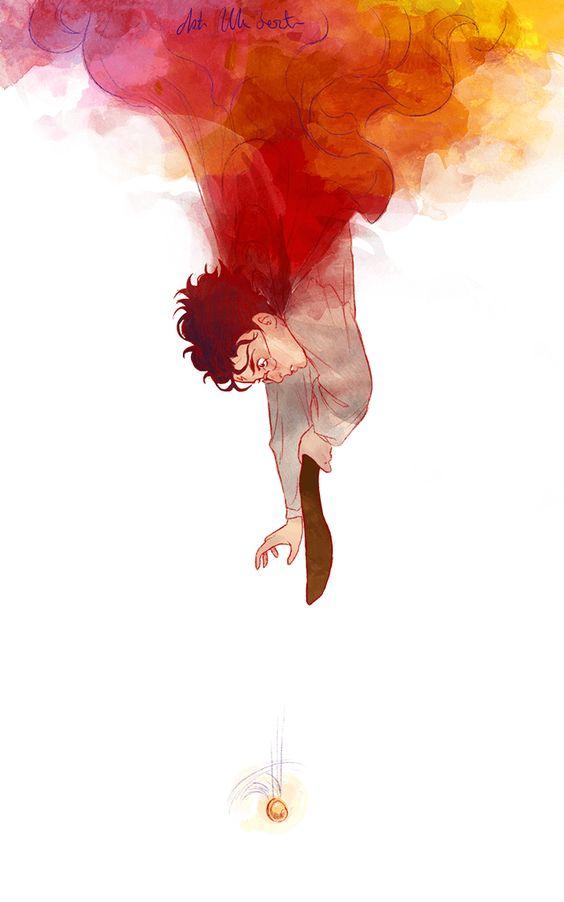 Невероятные и замечательные арты к Гарри Поттеру - подборка 1