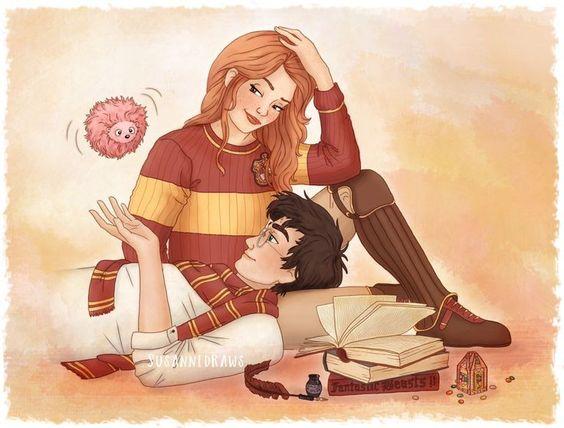 Невероятные и замечательные арты к Гарри Поттеру - подборка 15