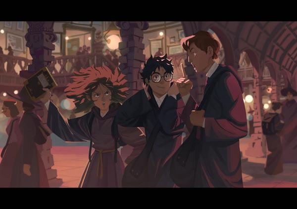 Невероятные и замечательные арты к Гарри Поттеру - подборка 18