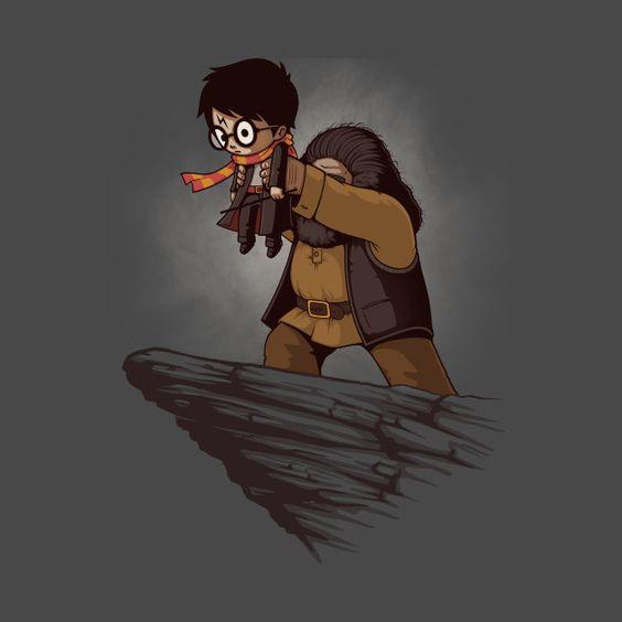 Невероятные и замечательные арты к Гарри Поттеру - подборка 19