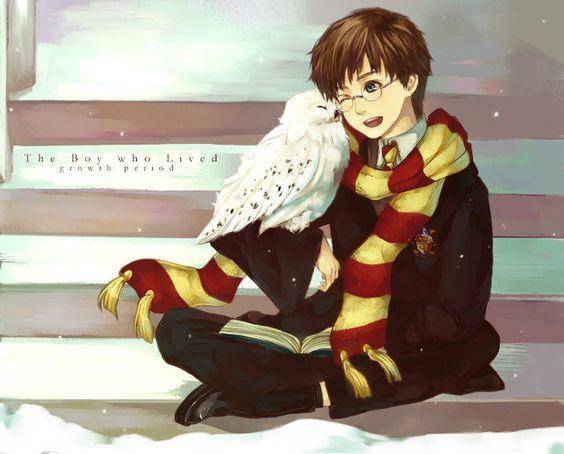 Невероятные и замечательные арты к Гарри Поттеру - подборка 2