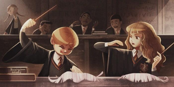 Невероятные и замечательные арты к Гарри Поттеру - подборка 4