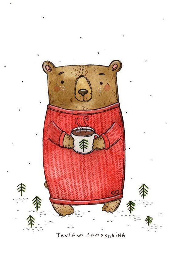 Новогодние картинки для срисовки в дневник - самые красивые 5
