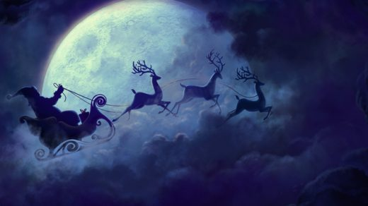 Новый год, подборка очень красивых и необычных картинок в стиле арт 2
