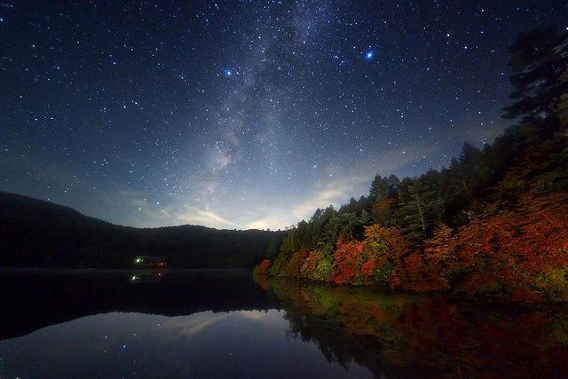 Осенняя ночь картинки и фотографии - очень красивые 15