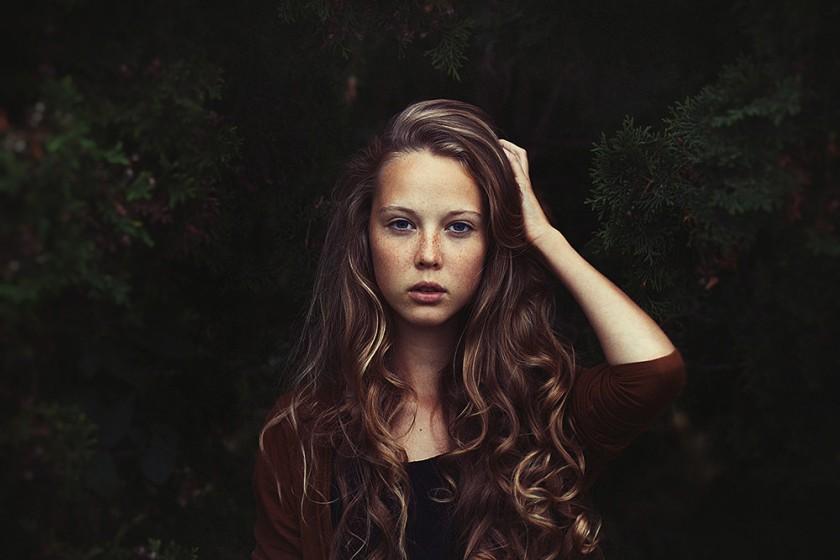 Портреты красивых девушек - удивительные фотографии №38 6