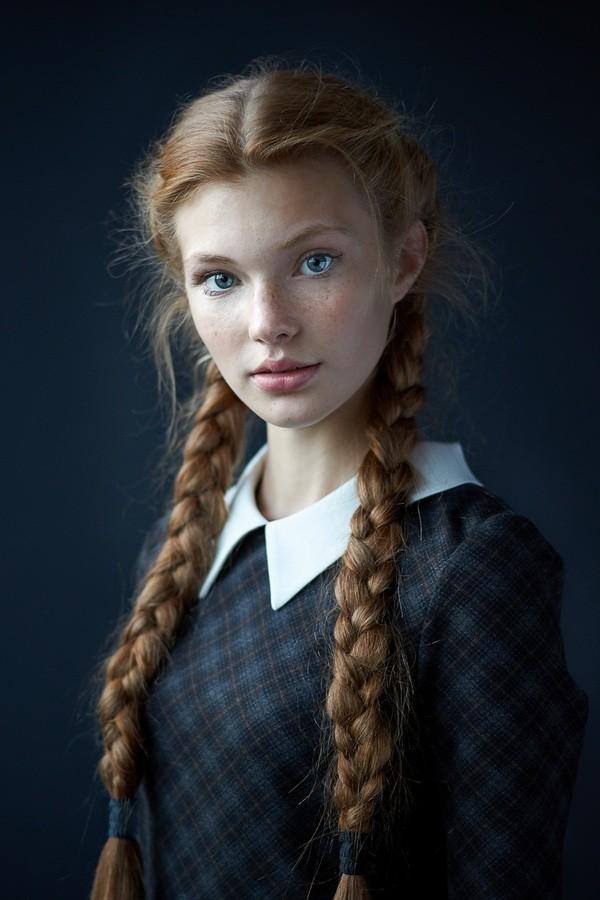 Портреты красивых девушек - удивительные фотографии №38 9