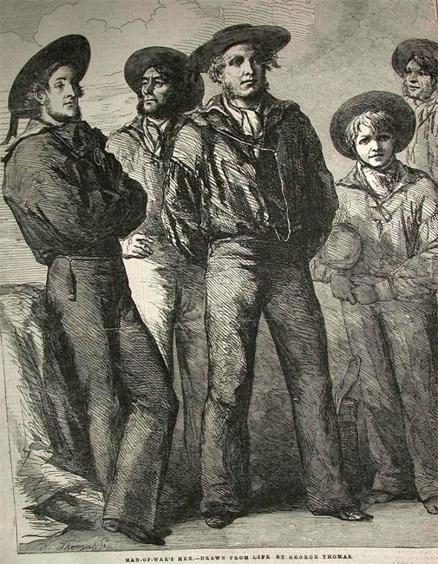 Почему моряки носили брюки клеш История и преимущества одежды 3