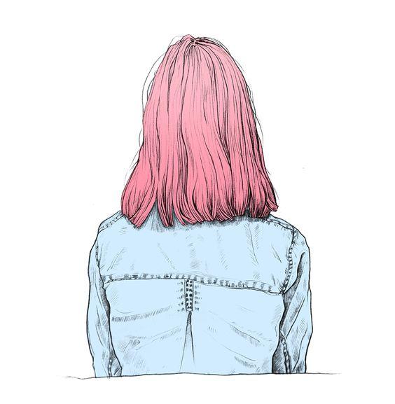 Прикольные картинки девочек и девушек для срисовка - подборка 13