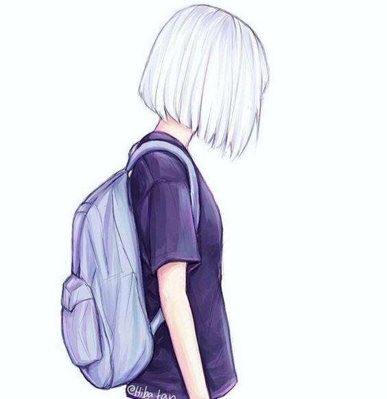 Прикольные картинки девочек и девушек для срисовка - подборка 9