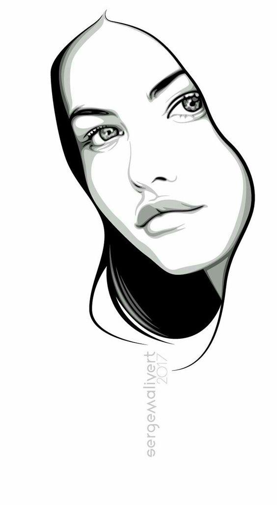 Прикольные картинки для срисовки для девочек 16 лет - сборка 7