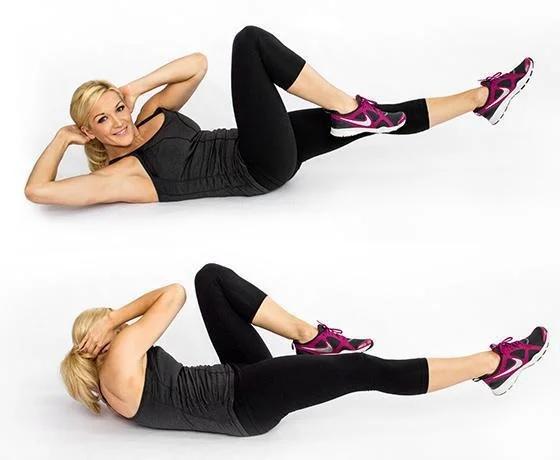Самые эффективные упражнения для женского живота 3