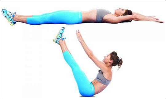 Самые эффективные упражнения для женского живота 4