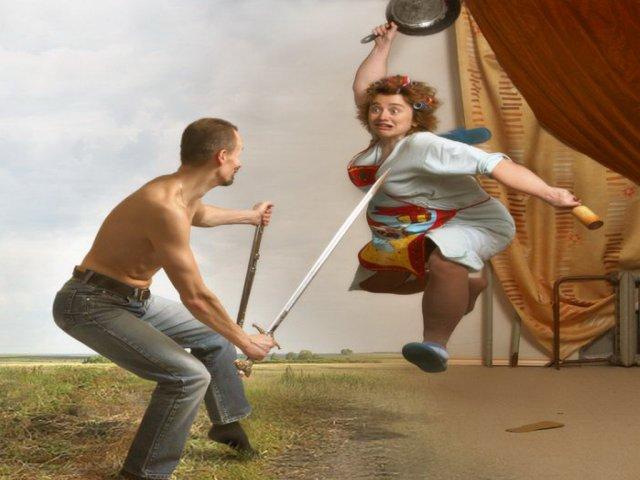 Смешные и веселые картинки про тещу и зятя с надписями - подборка 7