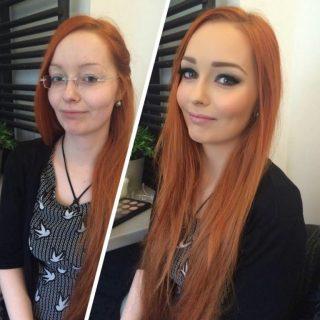 Сравнение девушек с макияжем и без - прикольные фото, картинки 12