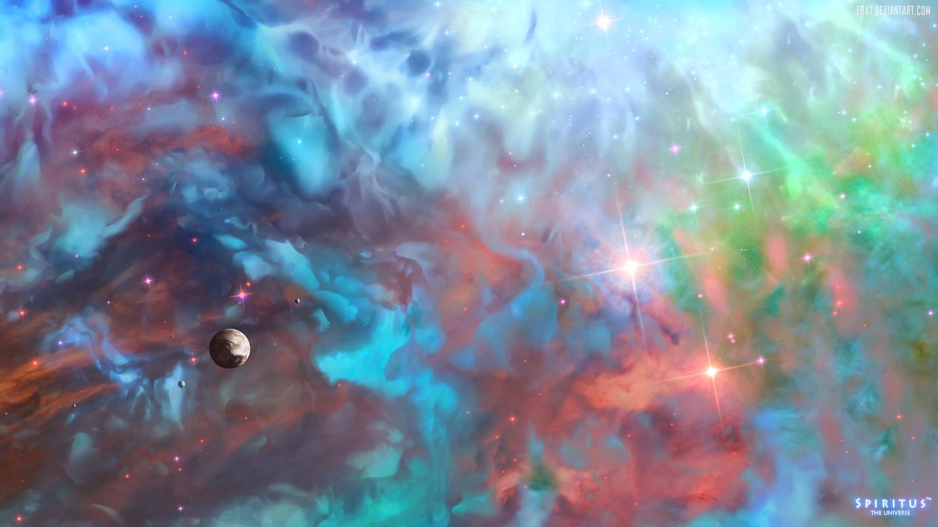 Увлекательные обои Космоса для заставки рабочего стола - сборка №9 9