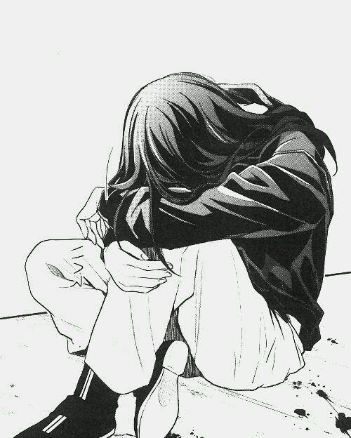 Грусть и одиночество - картинки, рисунки для срисовки, рисования 10