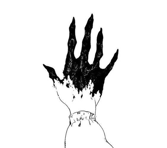 Грусть и одиночество - картинки, рисунки для срисовки, рисования 2