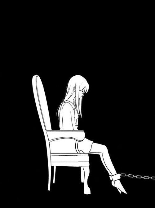 Грусть и одиночество - картинки, рисунки для срисовки, рисования 4