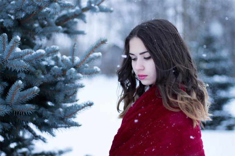 Девушка-зима - удивительные арт картинки, фото, подборка 1