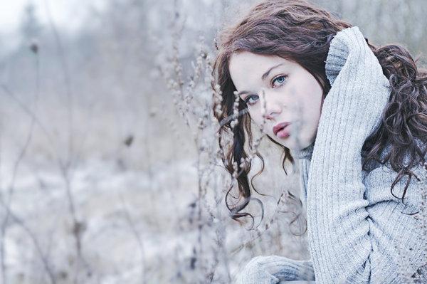 Девушка-зима - удивительные арт картинки, фото, подборка 15