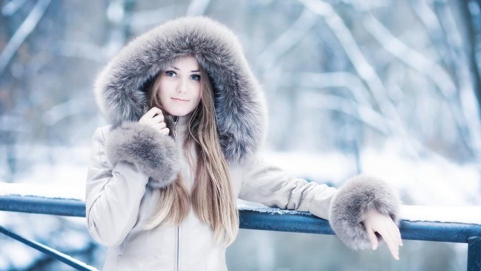 Девушка-зима - удивительные арт картинки, фото, подборка 18