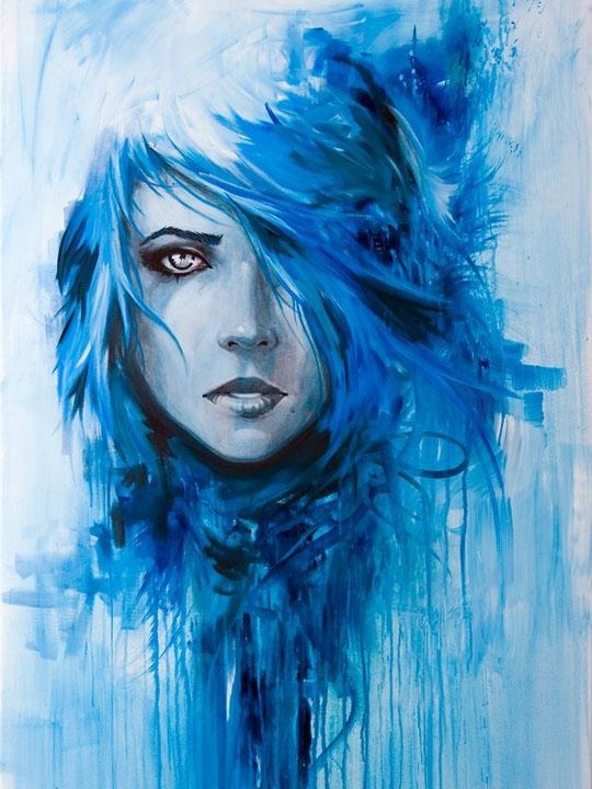 Девушка-зима - удивительные арт картинки, фото, подборка 26