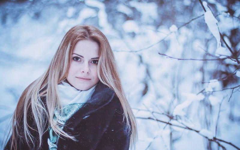 Девушка-зима - удивительные арт картинки, фото, подборка 5