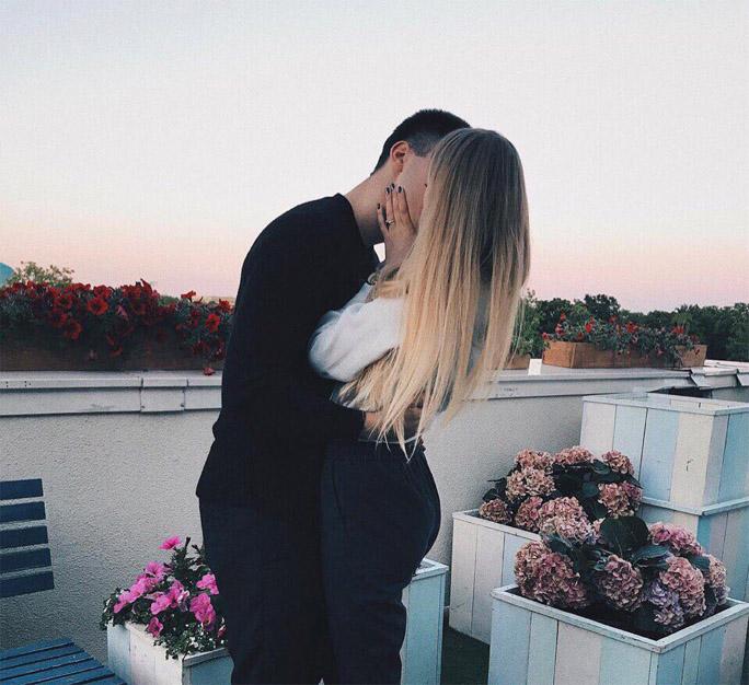 Девушка и парень целуются - красивые картинки и фото 20 штук 6