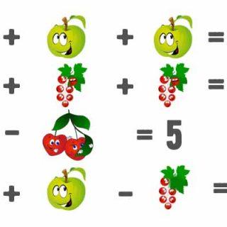 Задачи в картинках для 1 класса по математике в пределах 10 - подборка 21