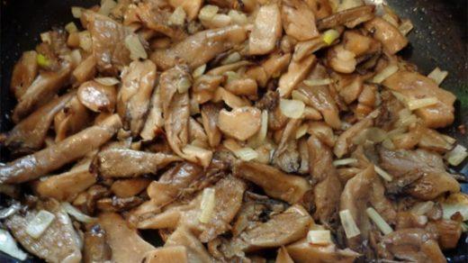 Как жарить грибы вешенки Рецепт вкусных жареных вешенок 1