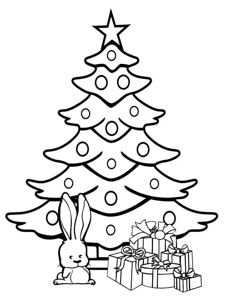 Красивые и интересные картинки новогодней елочки для детей 11