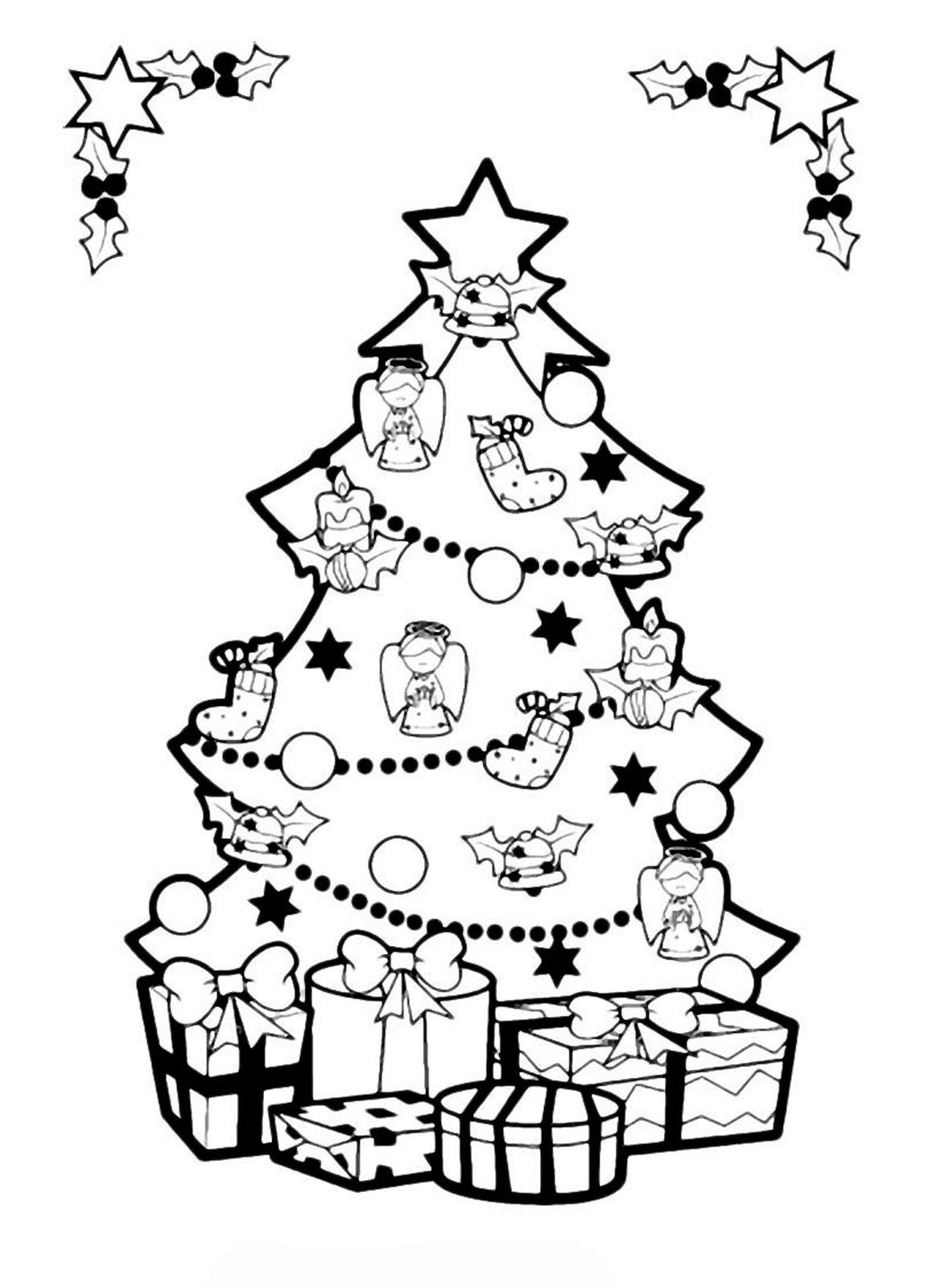 Красивые и интересные картинки новогодней елочки для детей 15