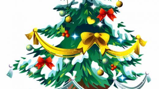 Красивые и интересные картинки новогодней елочки для детей 16