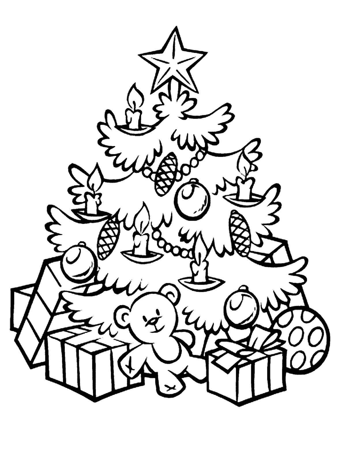 Красивые и интересные картинки новогодней елочки для детей 2