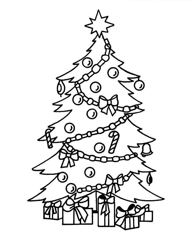 Красивые и интересные картинки новогодней елочки для детей 3