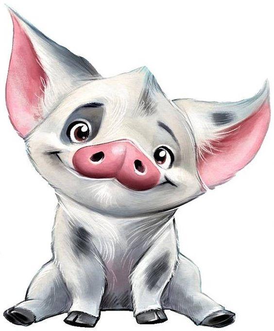 Красивые и прикольные картинки на тему Новогодняя свинья - сборка 8
